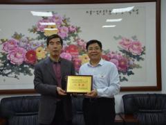 市协作办党组书记、主任高耀宗同志带队到河南省人民政府驻广州办事处调研指导工作